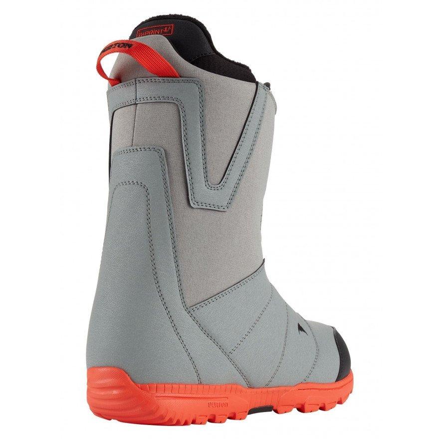 Boots Snowboard Burton Moto Boa - Gray Red