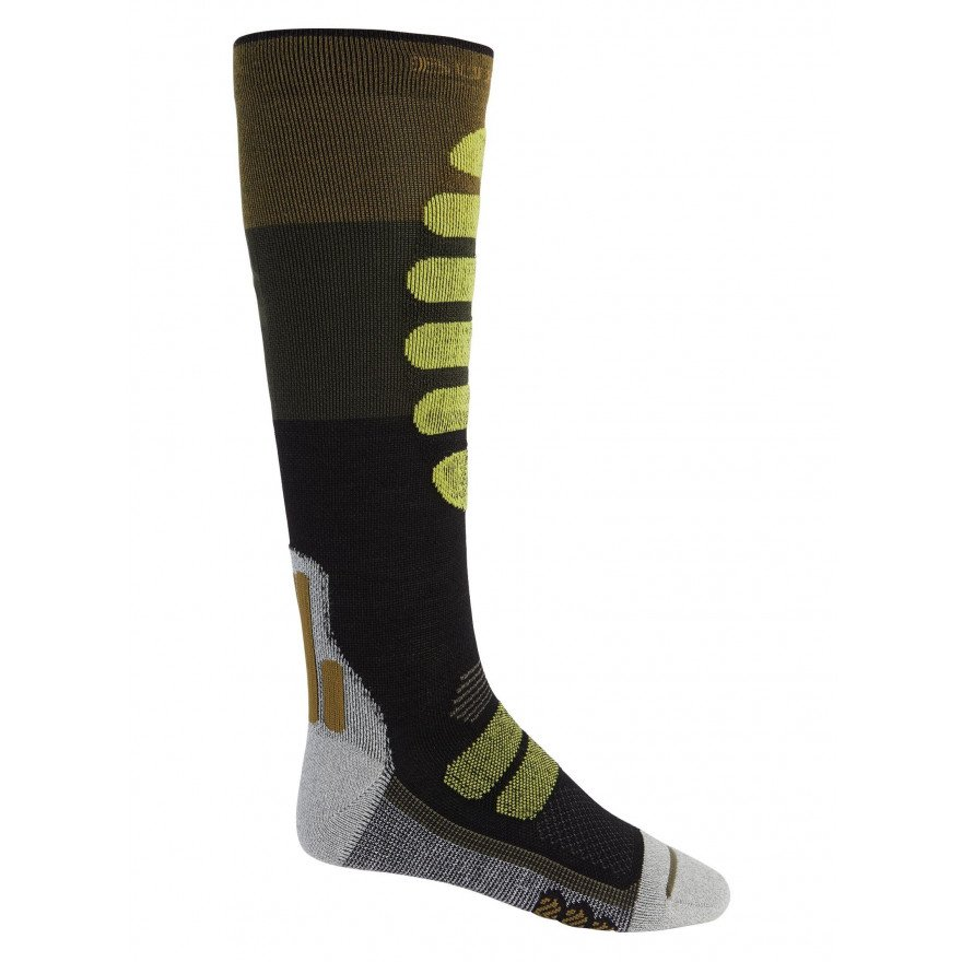 Sosete Snowboard Barbati Burton Performance Plus Lightweight Compression - Martini Olive