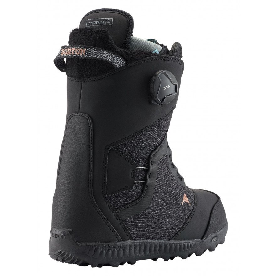 Boots Snowboard Dama Burton Felix Step On - Black