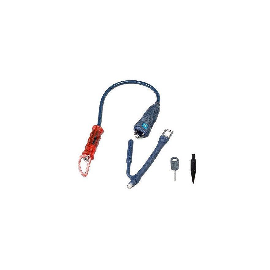 Kit bara kitesurfing Duotone Quick Release Freeride - Blue