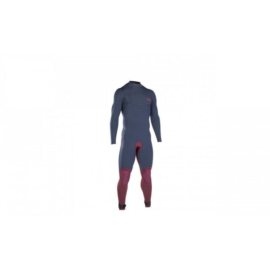 Costum neopren Ion Strike Amp Semidry 5/4 BZ DL - Slate Blue Red