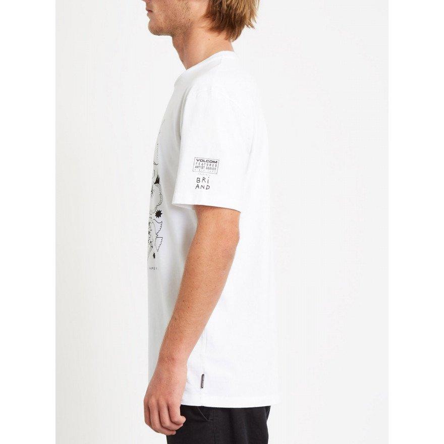Tricou Barbati Volcom Briand - White