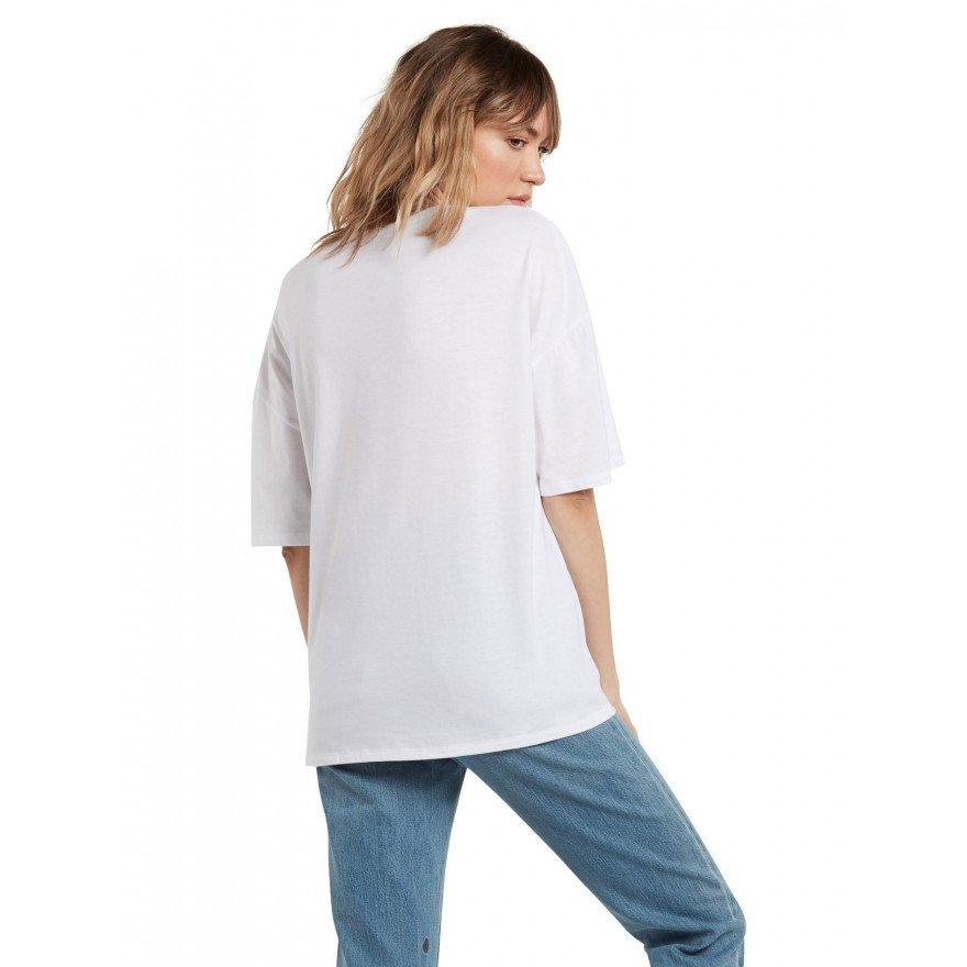 Tricou Dama Volcom Briand - White