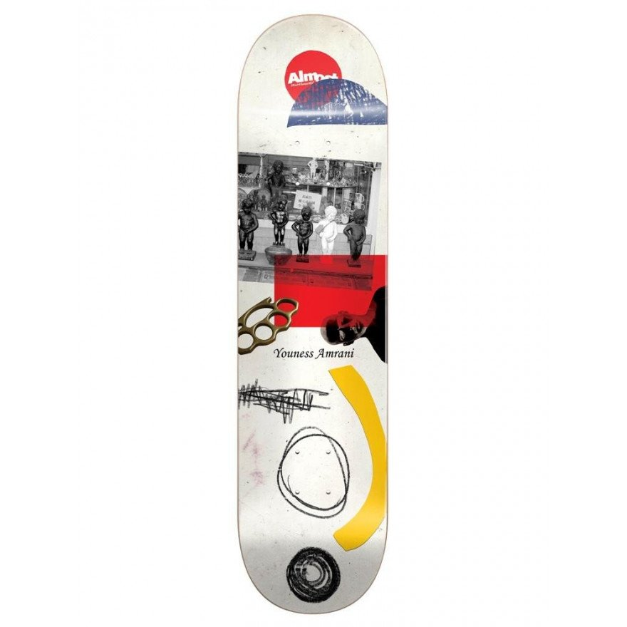 Placa Skateboard Almost Youness Scraps