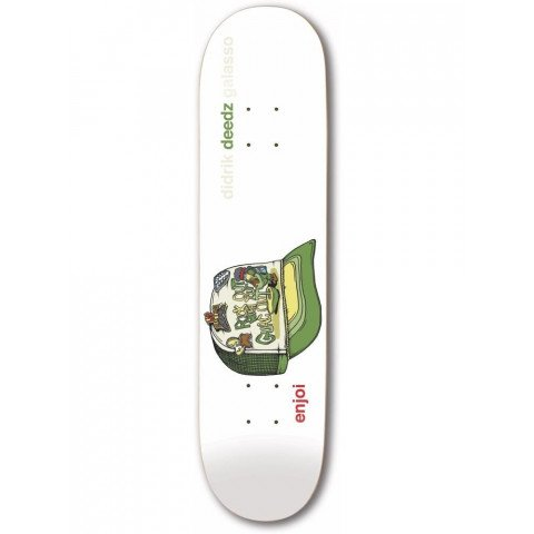 Placa Skateboard Enjoi Deedz Snap Back