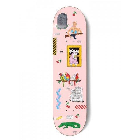 Placa Skateboard Darkstar Manolo Cherries