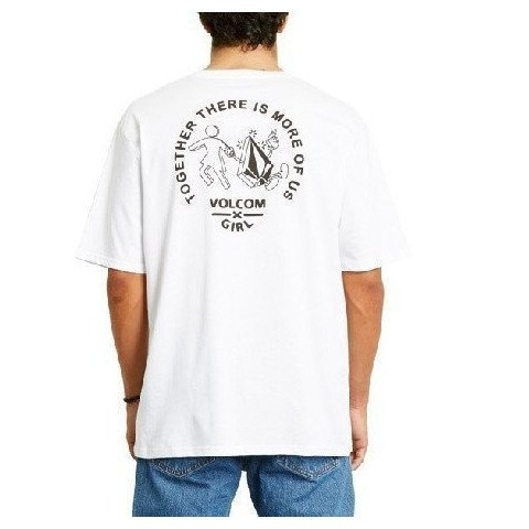 Tricou Barbati Volcom Stonely - White