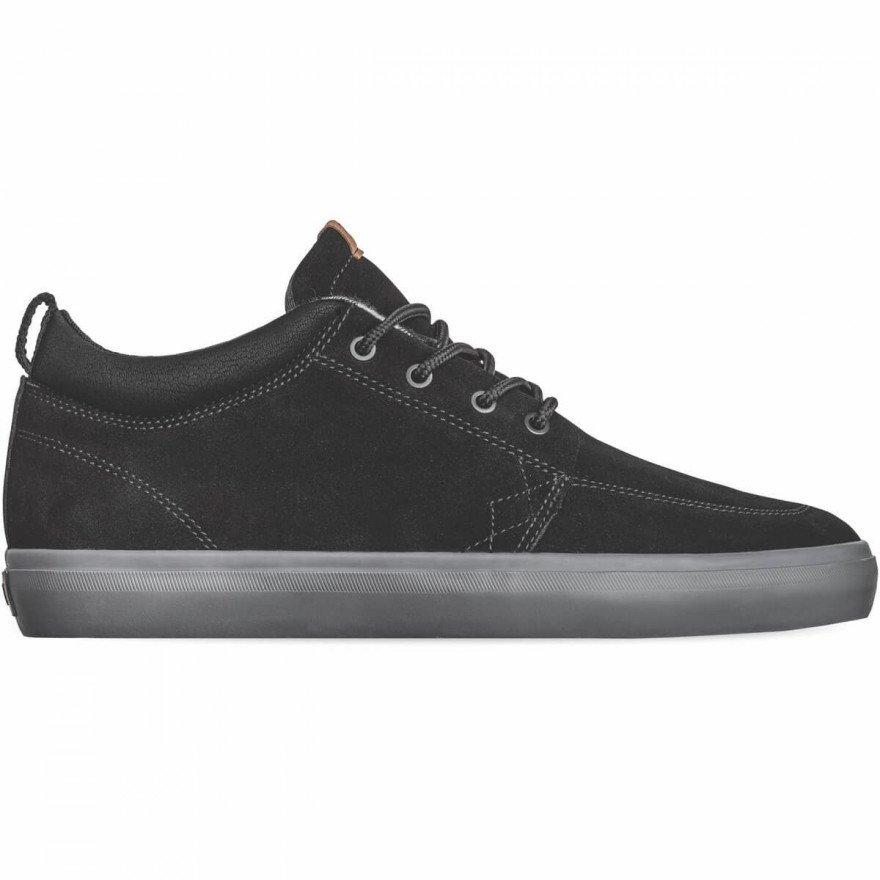 Shoes Globe GS Chukka - Black Charcoal Plaid