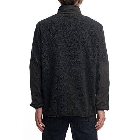 Hanorac Barbati Globe Polartec® Zip Thru - Black