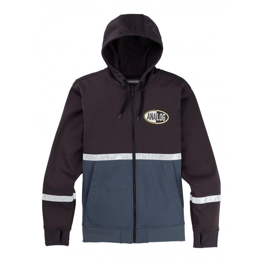 Hanorac Termal Analog Weatherproof Zip Fleece - Phantom Dark Slate