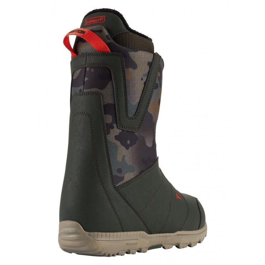 Boots Snowboard Burton Moto - Dark Green Camo
