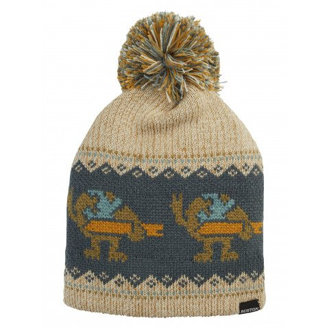 Caciula Snowboard Burton Fairisle - Oatmeal Heather