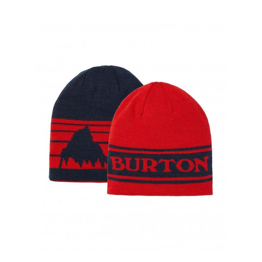 Caciula Snowboard Burton Billboard - Flame Scarlet Dress Blue