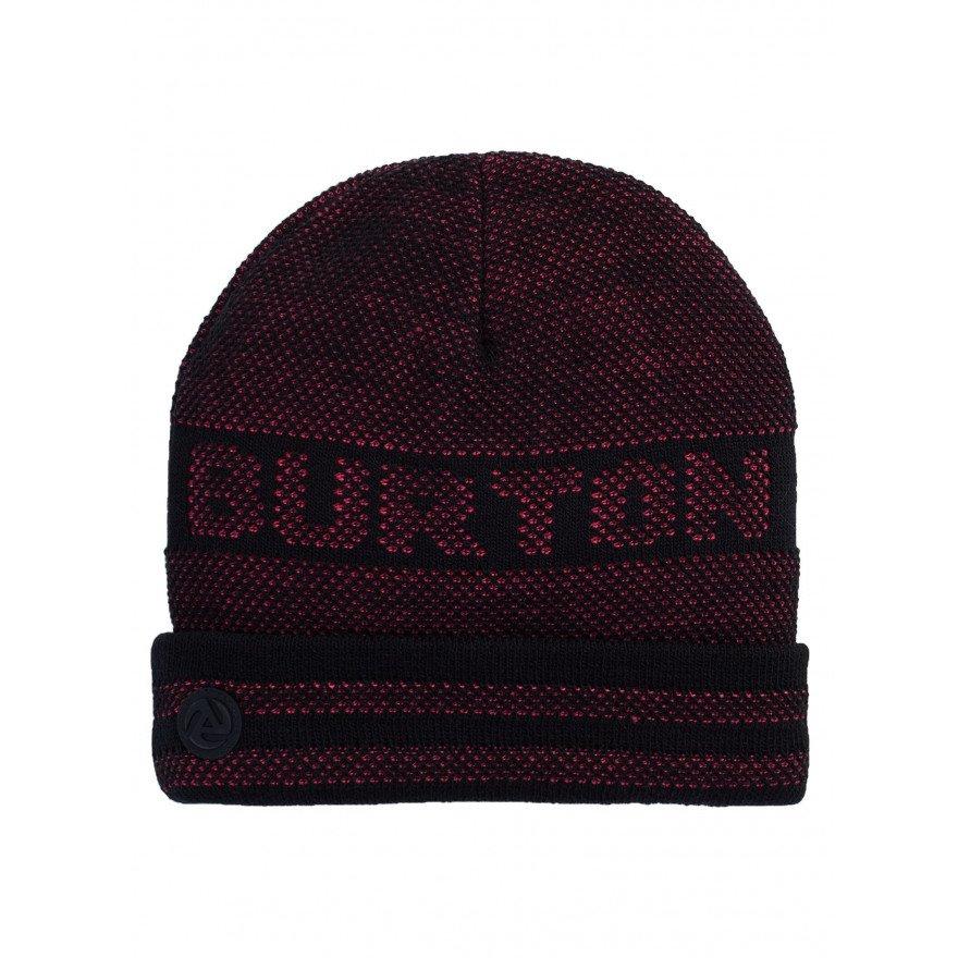 Caciula Snowboard Unisex Burton Backcut - True Black Punchy