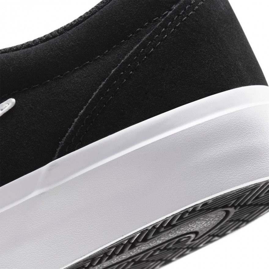 Shoes Charge Suede - Black White