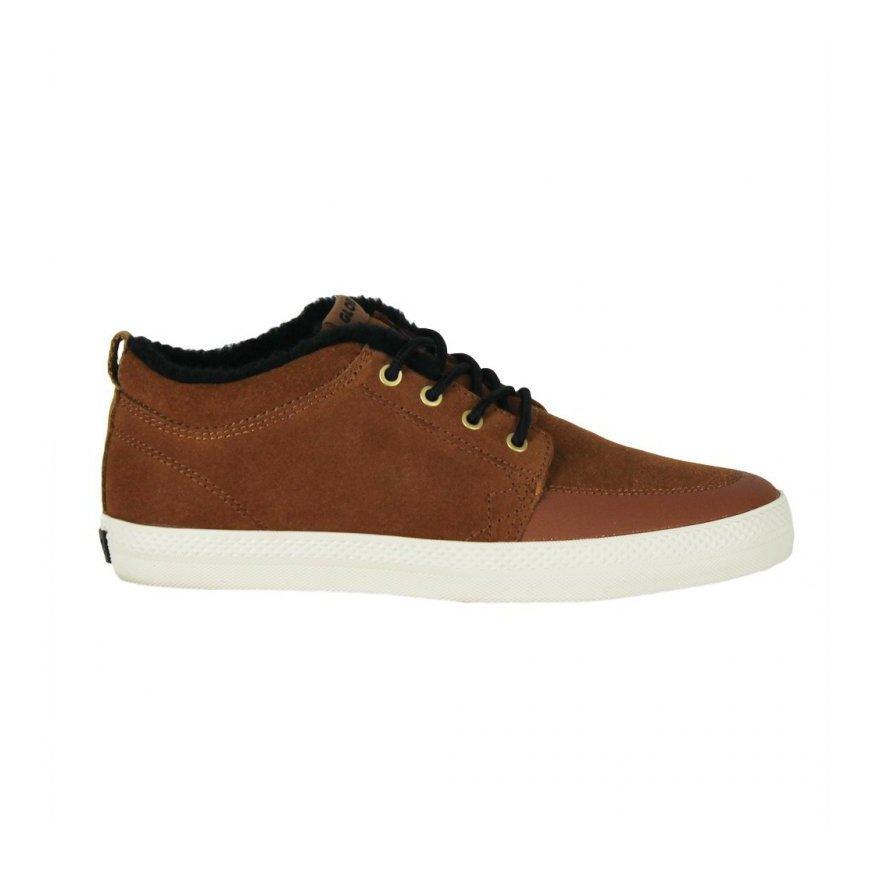 Shoes Globe GS Chukka - Brown Black Wool
