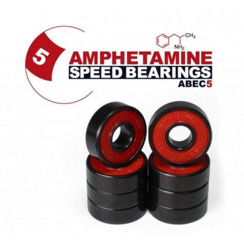 Rulmenti Skateboard Amphetamine ABEC 5