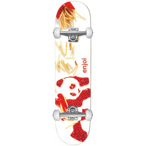 Skateboard Complet Enjoi Fries Youth - White