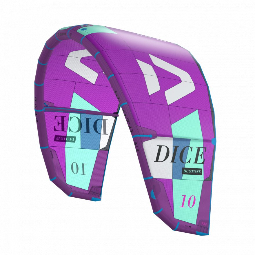 Kite Duotone Dice Purple
