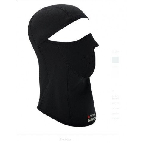 Masca Snowboard Burton Premium Balaclava - True Black