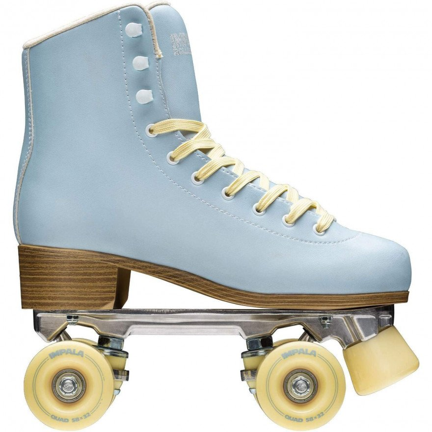 Role QUAD Skate - Sky Blu/Yellow