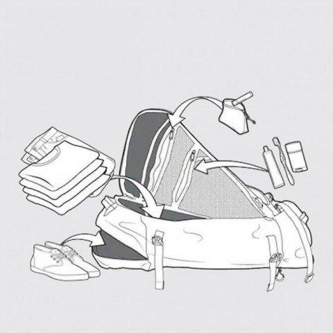 Troler Burton Multipath Checked - Barren Camo Print