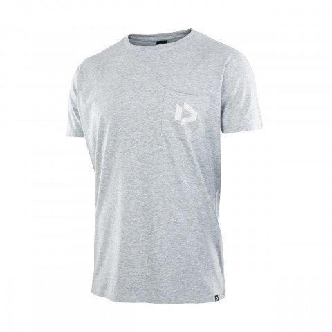 Tricou Barbati Duotone Pocket - Grey Melange
