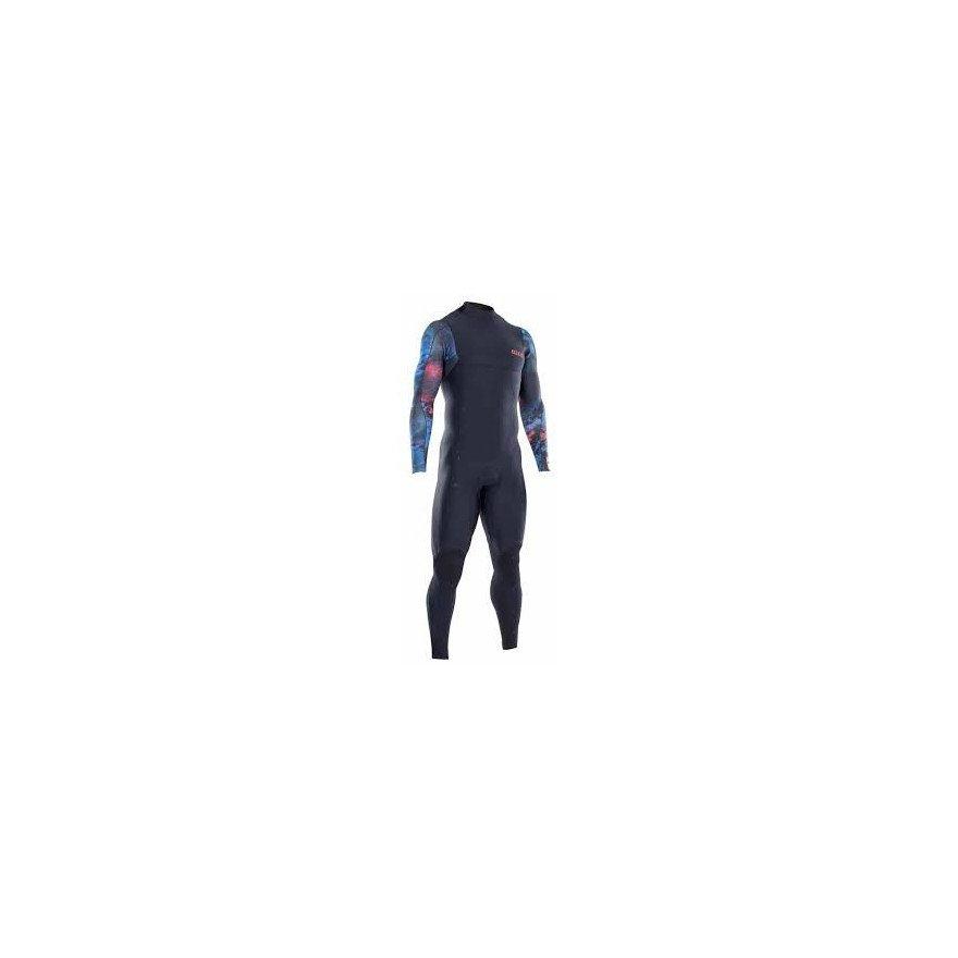Costum Neopren Ion Seek Amp Semidry 4/3 BZ DL - Black/Black capsule