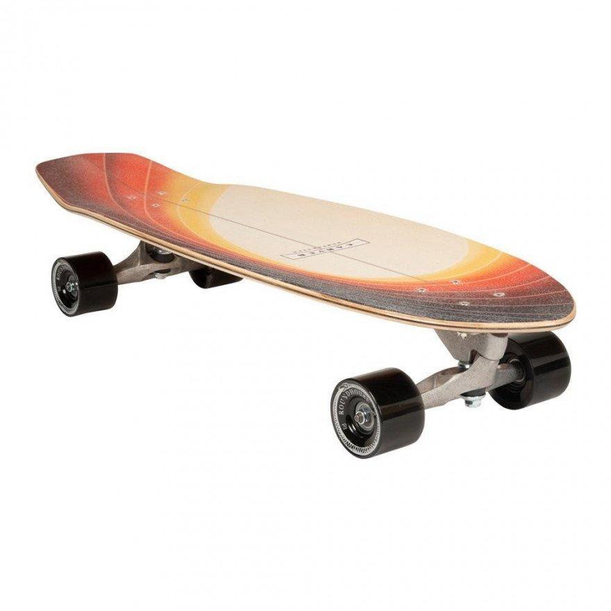 "Cruiser Carver Skateboards Glass Off CX Raw 32"""