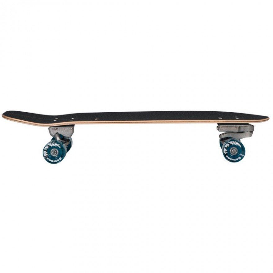 "Cruiser Carver Skateboards Green Room C7 Raw 33.75"""