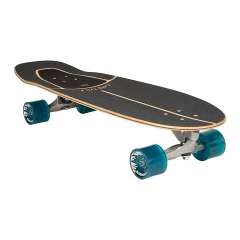 """Cruiser Carver Skateboards Knox Quil CX Raw 31.25"""""""