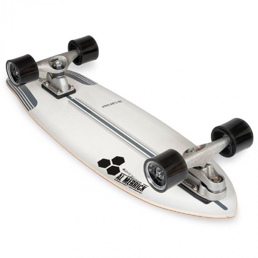 "Cruiser Carver Skateboards CI Flyer CX Raw 30.75"""