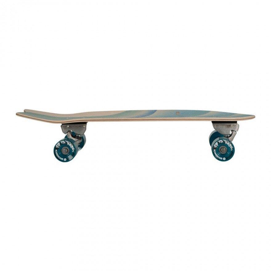 "Cruiser Carver Skateboards Emerald Peak CX Raw 30"""