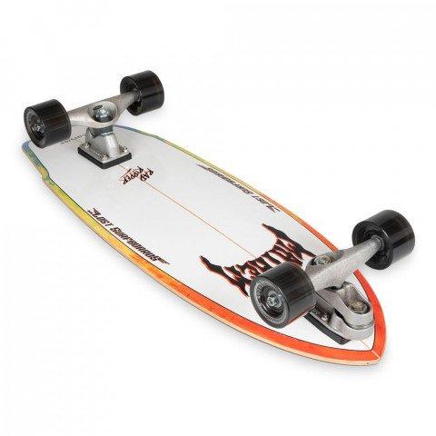 "Cruiser Carver Skateboards Rad Ripper C7 Raw 31"""