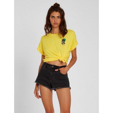 Tricou Dama Volcom Frontye - Acid Lemon