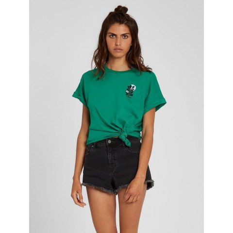 Tricou Dama Volcom Frontye - Synergy Green