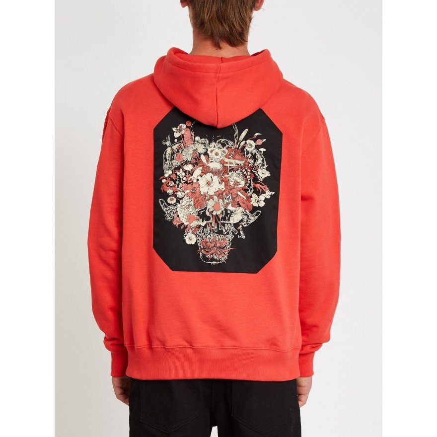 Hanorac Barbati Volcom Fleece - Fortifem - Carmine Red