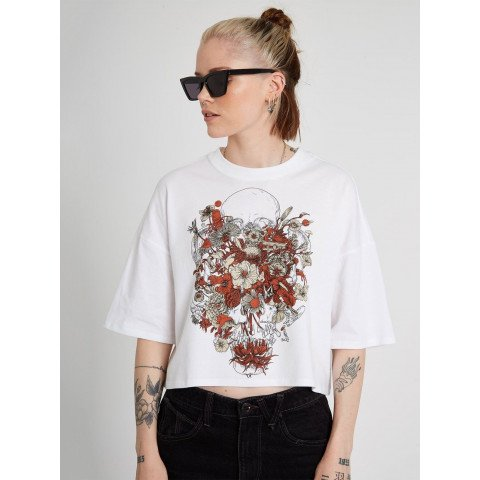 Tricou Dama Volcom Fortifem - White