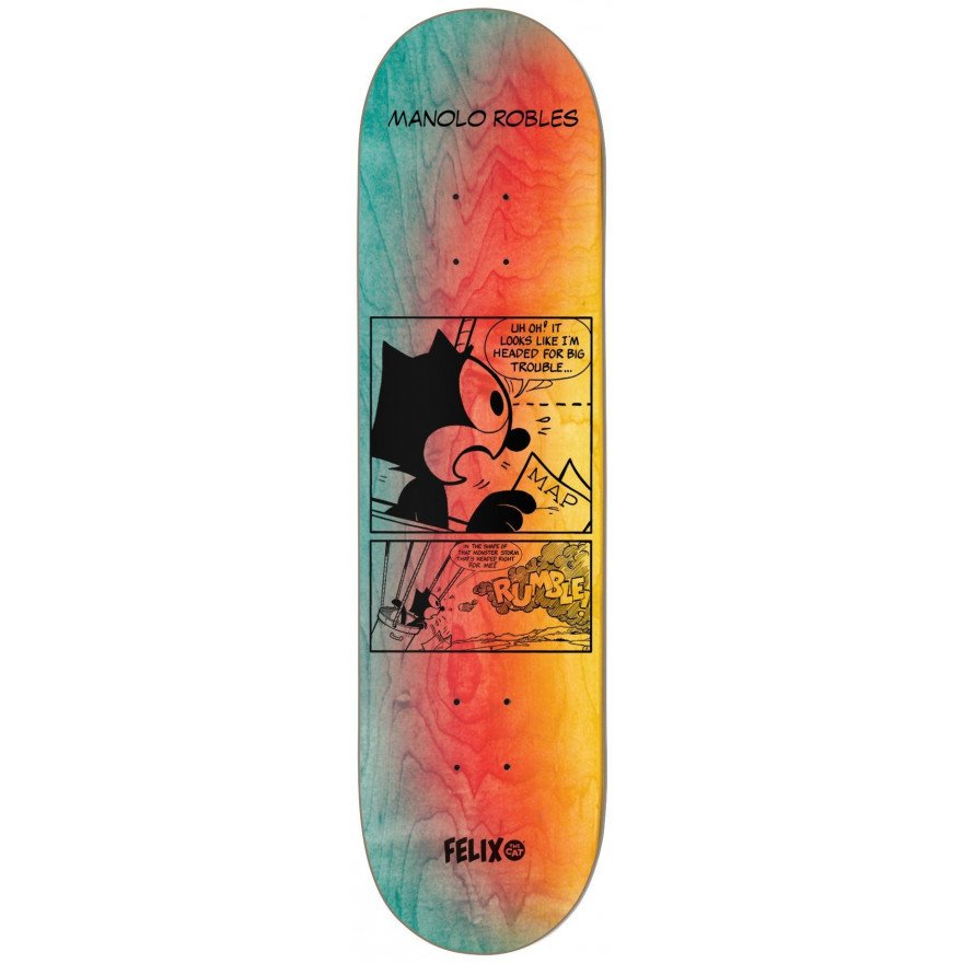 Placa Skateboard Darkstar Felix Future - Manolo Robles