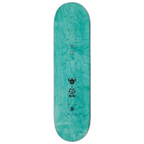 Placa Skateboard Darkstar Felix Pattern - Teal