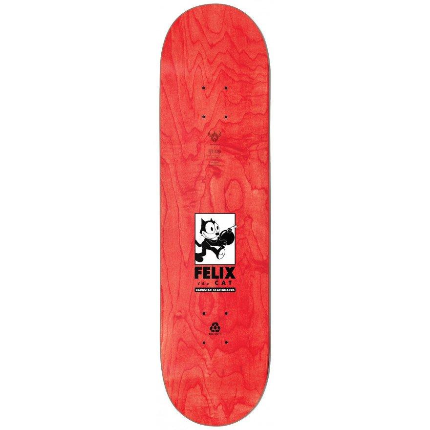 Placa Skateboard Darkstar Felix Delivery - Red