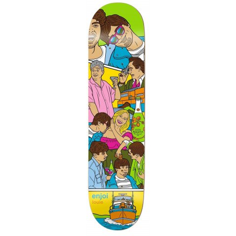 Placa Skateboard Enjoi Weekend At Louies - Louie Barletta