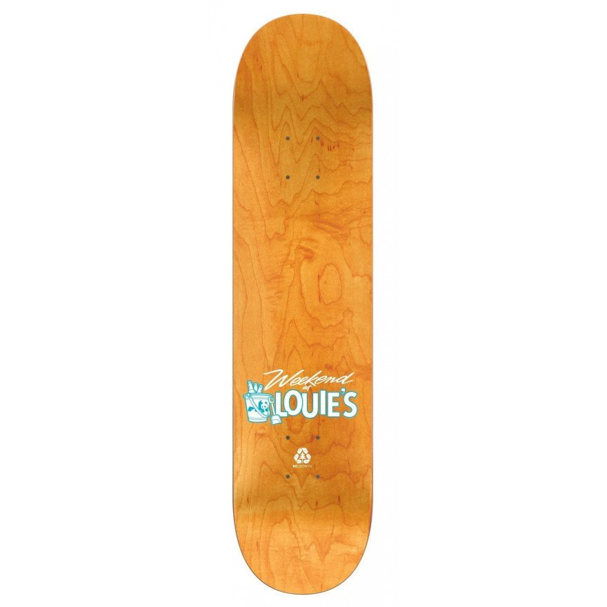 "Placa Skateboard Enjoi Weekend At Louies - Didrik ""Deedz"" Galasso"