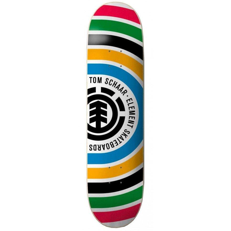 Placa Skateboard Element Schaar Ring - Assorted