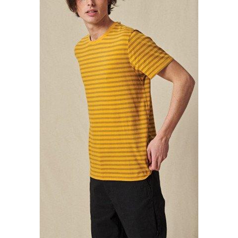 Tricou Barbati Globe Horizon Striped - Honey