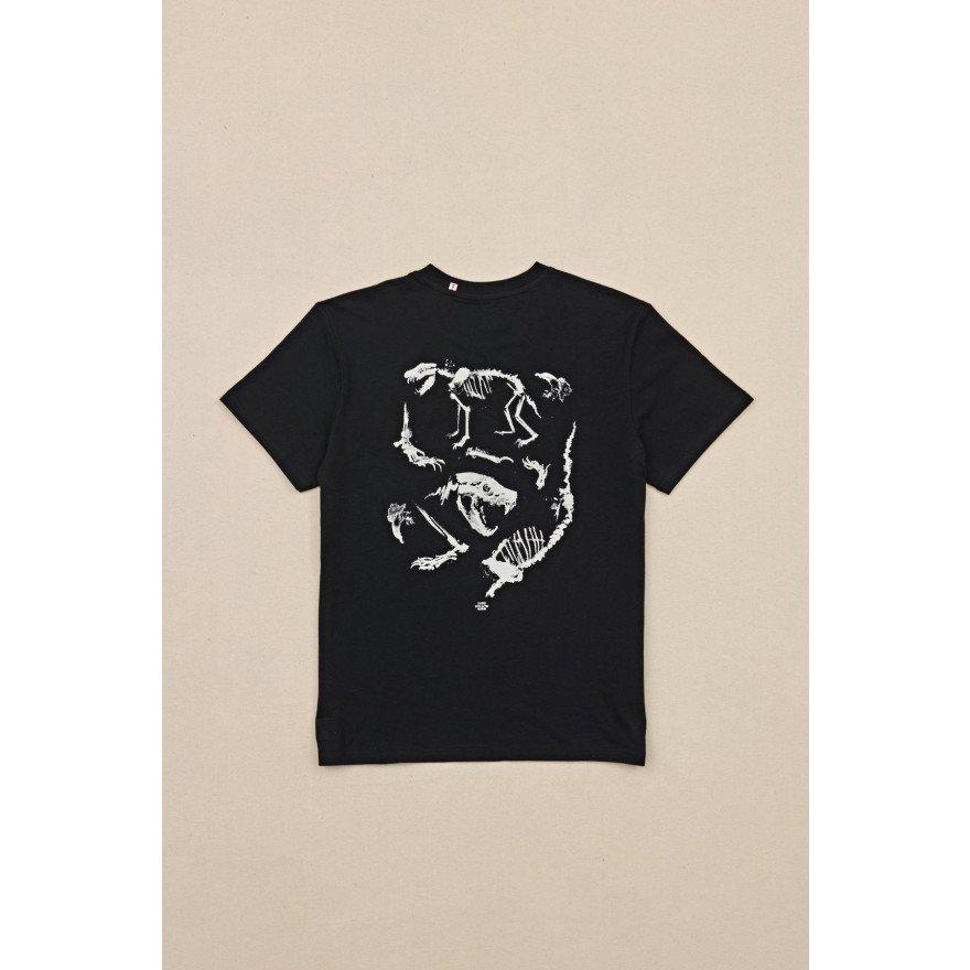 Tricou Barbati Globe Dion Agius Tasi - Black