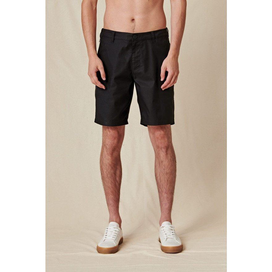 Pantaloni Scurti Barbati Globe Any Wear - Black