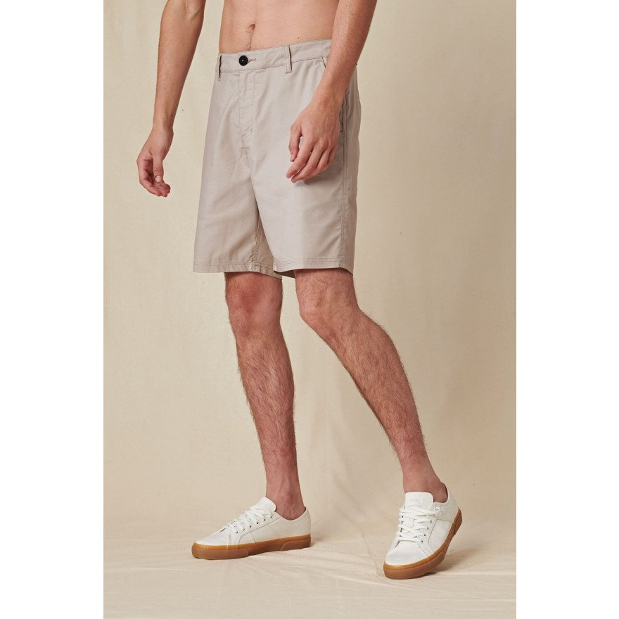 Pantaloni Scurti Barbati Globe Any Wear - Stone