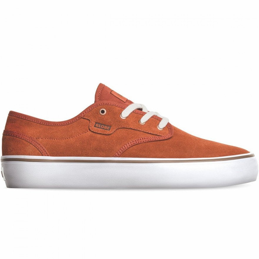 Shoes Globe Motley II - Cinnamon/White