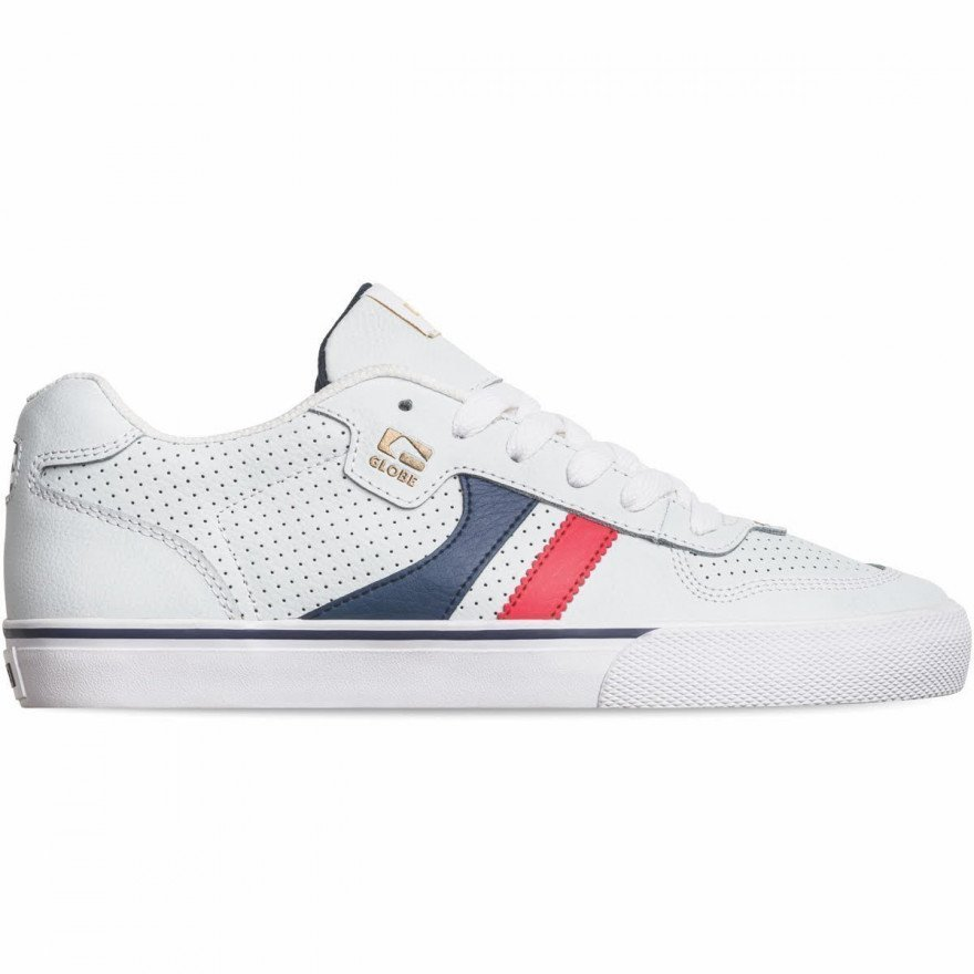 Shoes Globe Encore-2 - White/Blue/Red